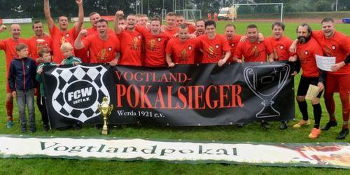 FC Werda Pokalsieger 2021 Foto: J. Thoss